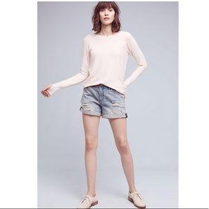 Anthropologie Pilco Hypen Denim Shorts